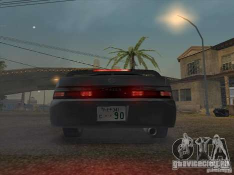 Toyota Chaser JZX90 Stock для GTA San Andreas вид сзади