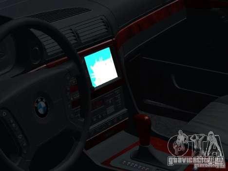 BMW 740I E38 (RUS) для GTA San Andreas вид сбоку