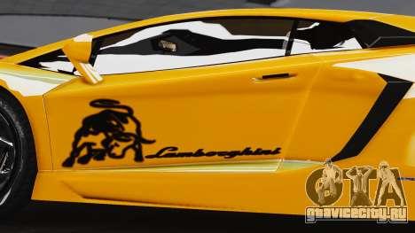 Lamborghini Aventador LP700-4 2012 для GTA 4 вид справа