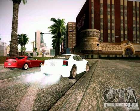 Buffalo из GTA 4 TBoGT для GTA San Andreas вид сзади слева
