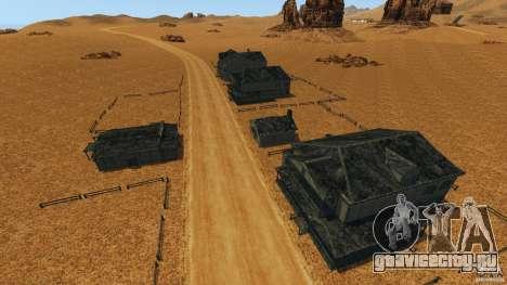 Red Dead Desert 2012 для GTA 4 седьмой скриншот