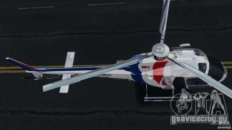 Eurocopter AS350 Ecureuil (Squirrel) Malaysia для GTA 4 вид сзади
