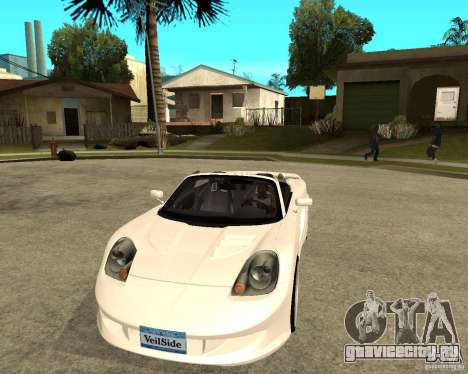 Toyota MRS2 Veilside для GTA San Andreas вид сзади