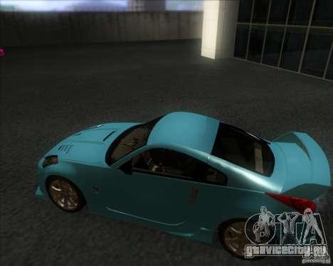 Nissan 350Z 2004 для GTA San Andreas вид сзади слева