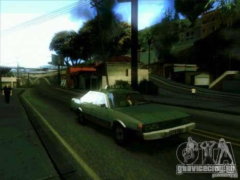 Такси из dri3r для GTA San Andreas вид сзади