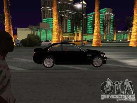 BMW M3 GT-R Stock для GTA San Andreas вид сзади