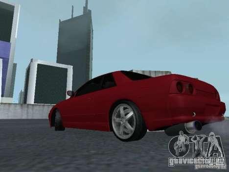 Nissan Skyline R32 Classic Drift для GTA San Andreas вид сзади слева