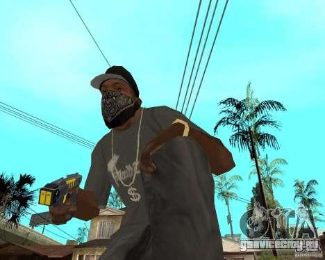Taser для GTA San Andreas второй скриншот