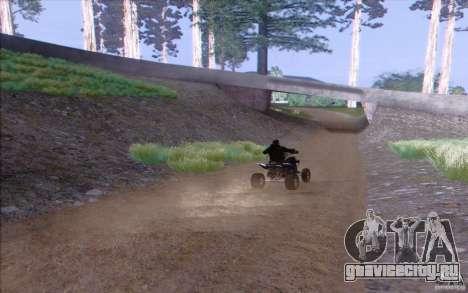 Сельская местность HQ для GTA San Andreas пятый скриншот