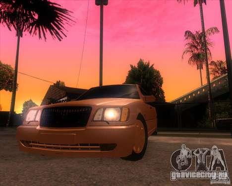 Mercedes-Benz S600 Limo для GTA San Andreas вид справа