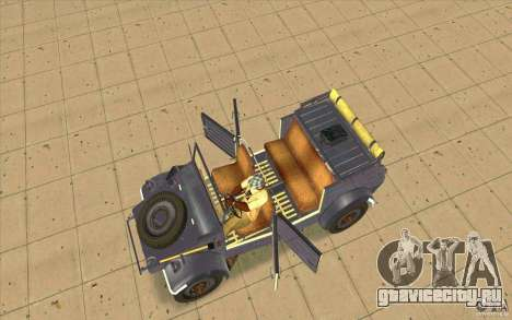 Kuebelwagen v2.0 normal для GTA San Andreas вид справа