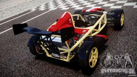 Ariel Atom 3 V8 2012 Custom Mugen для GTA 4 вид сзади слева