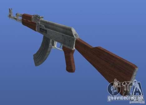 AK47 Retex 1.1 Chrome для GTA 4