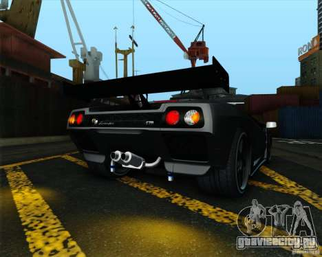 Lamborghini Diablo GTR V1.0 1999 для GTA San Andreas вид справа