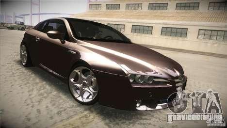 Alfa Romeo Brera Ti для GTA San Andreas вид изнутри