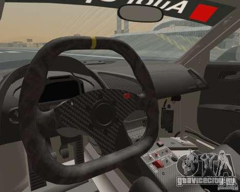 Audi R8 LMS v2.0.1 для GTA San Andreas вид сзади