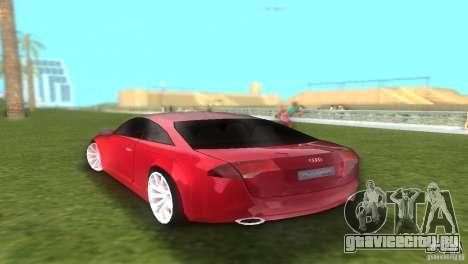 Audi Nuvolari Quattro для GTA Vice City вид слева