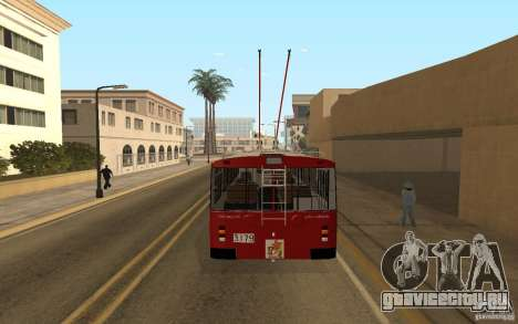 ЗиУ 682 для GTA San Andreas вид справа