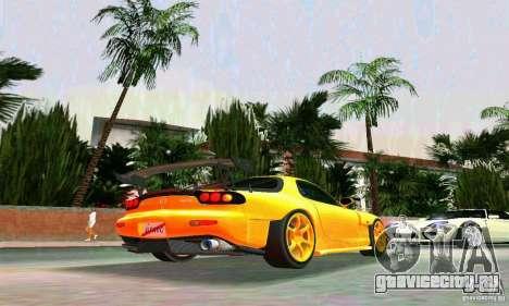 Mazda RX7 RE-Amemiya для GTA Vice City вид справа