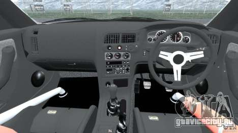 Nissan Skyline GT-R (R33) v1.0 для GTA 4 вид сзади