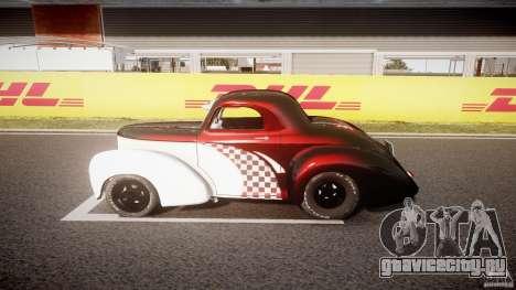 Willys Americar 1941 для GTA 4 вид изнутри