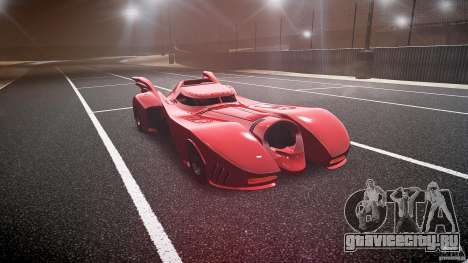 Batmobile Final для GTA 4 вид сзади