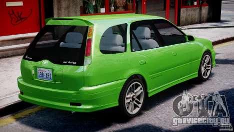 Toyota Sprinter Carib BZ-Touring 1999 [Beta] для GTA 4 салон