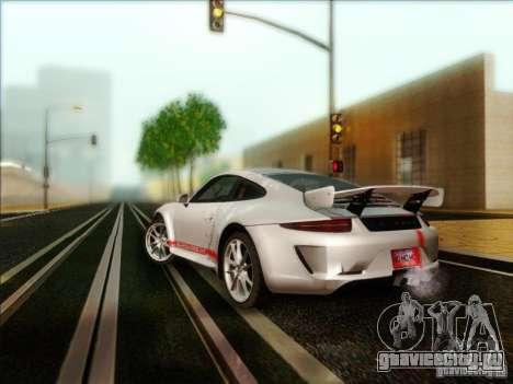 Porsche 911 Carrera S (991) Snowflake 2.0 для GTA San Andreas вид сзади слева