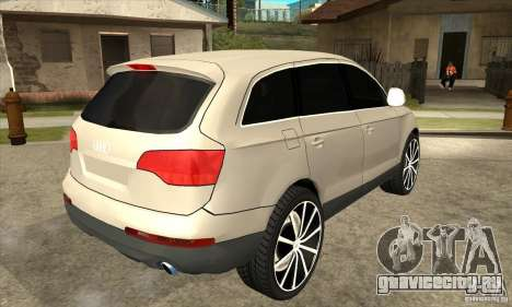 Audi Q7 v2.0 для GTA San Andreas
