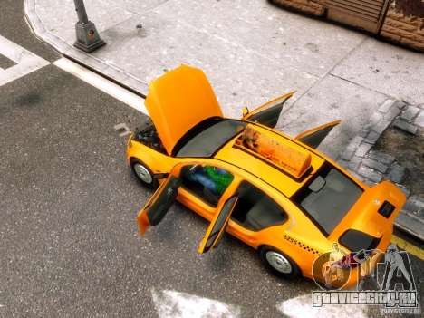 Holden NYC Taxi для GTA 4 вид сбоку