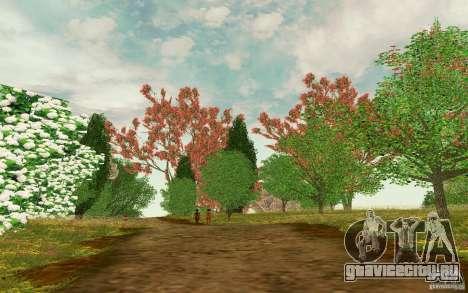 Project Oblivion 2010 Sunny Summer для GTA San Andreas третий скриншот