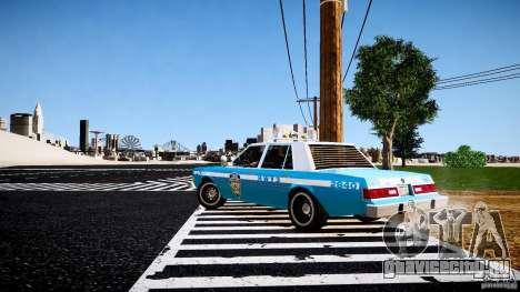 Dodge Diplomat 1983 Police v1.0 для GTA 4 вид справа