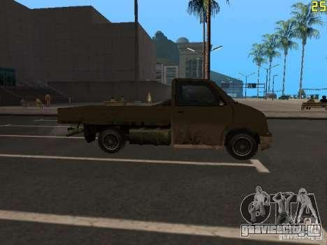Moonbeam Пикап для GTA San Andreas вид справа