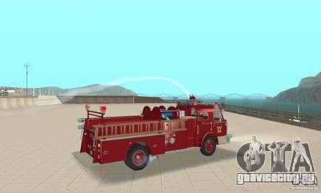 American LaFrance Pumper 1960 для GTA San Andreas