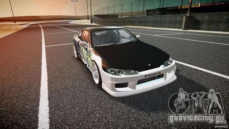 Nissan Silvia S15 Drift v1.1 для GTA 4 вид изнутри