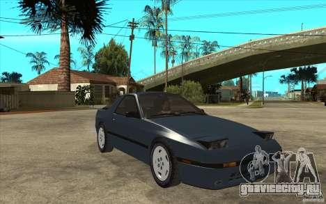 Mazda RX7 FC3S Stock для GTA San Andreas вид сзади