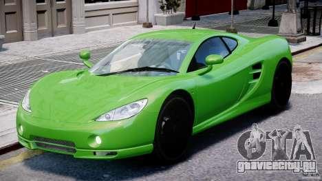 Ascari KZ-1 для GTA 4 вид слева
