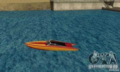 GTAIV Jetmax для GTA San Andreas вид слева