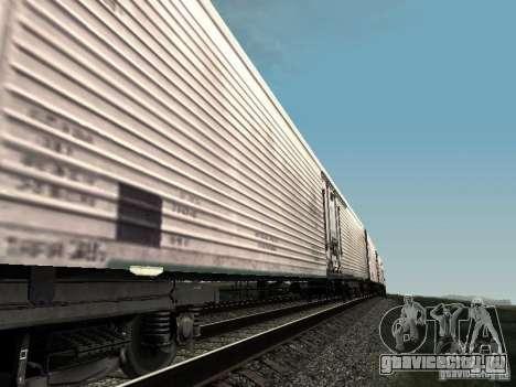 Рефрежираторный вагон Дессау №3 для GTA San Andreas вид сзади слева