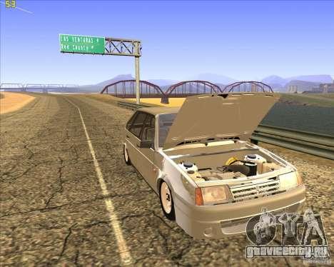 ВАЗ 2109 Тюнинг для GTA San Andreas вид сбоку