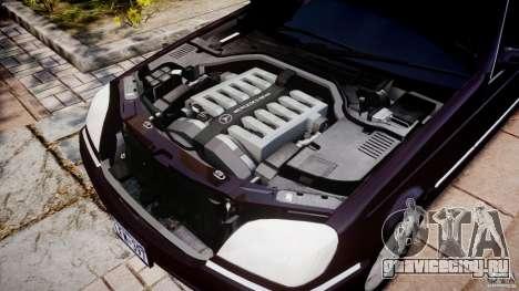 Mercedes-Benz 600SEC C140 1992 v1.0 для GTA 4 вид изнутри