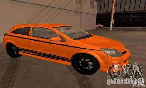 Opel Astra GTS для GTA San Andreas вид сбоку