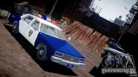 Chevrolet Impala Police 1983 для GTA 4
