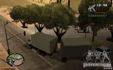Активная приборная панель 3.1 для GTA San Andreas четвёртый скриншот