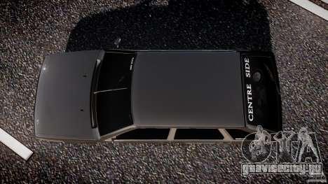 ВАЗ 2109 Lada для GTA 4 вид сверху