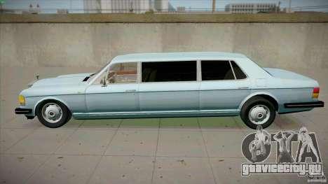 Rolls-Royce Silver Spirit 1990 Limo для GTA San Andreas вид слева