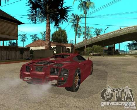 B-Engineering Edonis для GTA San Andreas вид сзади слева