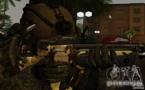 Tavor Tar-21 Camodesert для GTA San Andreas третий скриншот