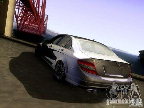 Mercedes-Benz C36 AMG для GTA San Andreas вид слева