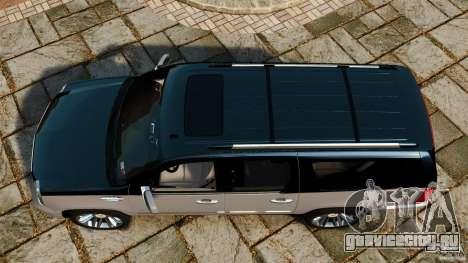 Cadillac Escalade ESV 2012 для GTA 4 вид справа